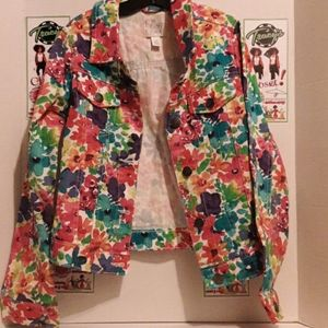 1989 Place foral jacket